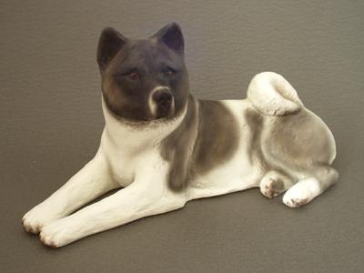 Akita Dog Statues
