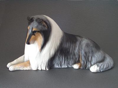 Collie Rough Sandstone Large Statue Milan Orm Dog Art