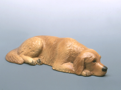 Golden Retriever - Sandstone Small Statue