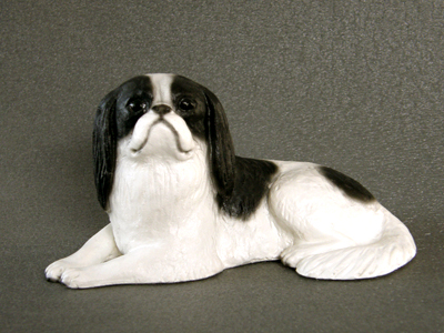 Japanese Chin - Sandstone Small Statue
