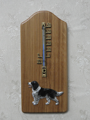 English Springer Spaniel - Thermometer Rustical