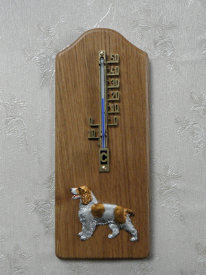 Welsh Springer Spaniel - Thermometer Rustical