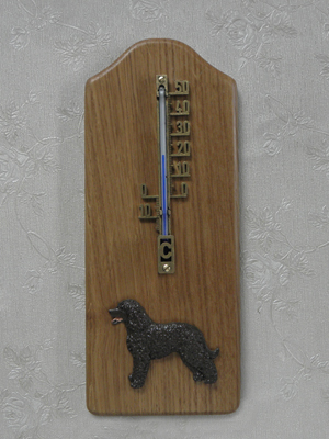 Irish Water Spaniel - Thermometer Rustical