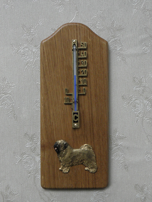 Tibetan Terrier - Thermometer Rustical
