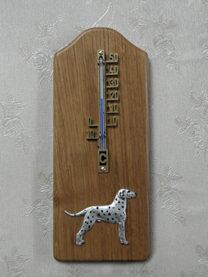 Dalmatian - Thermometer Rustical