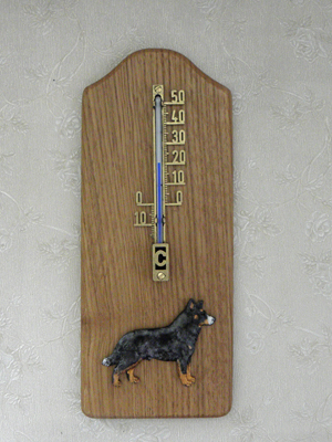 Australian Cattle Dog - Thermometer Rustical