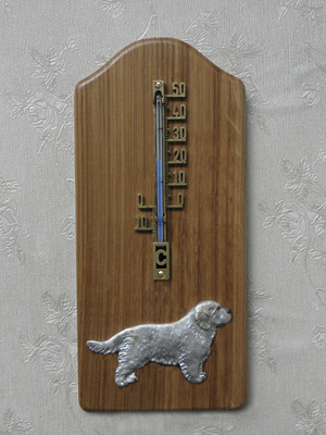Clumber Spaniel - Thermometer Rustical