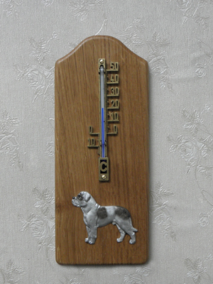 American Bulldog - Thermometer Rustical