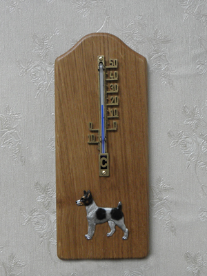 Tenterfield Terrier - Thermometer Rustical