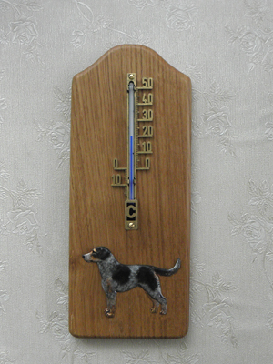 Bohemian Spotted Dog - Thermometer Rustical