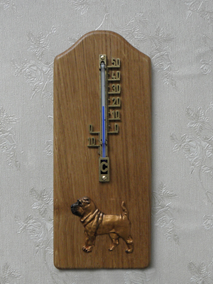 Sharpei - Thermometer Rustical
