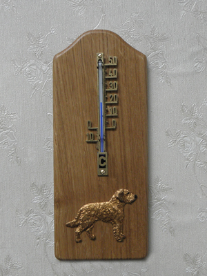 Styrian Coarse haired hound - Thermometer Rustical