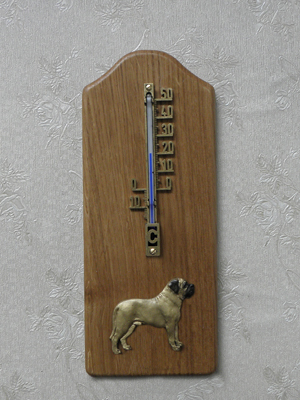 Mastiff - Thermometer Rustical