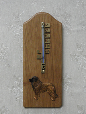 Leonberger - Thermometer Rustical