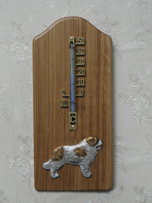 St. Bernard - Thermometer Rustical