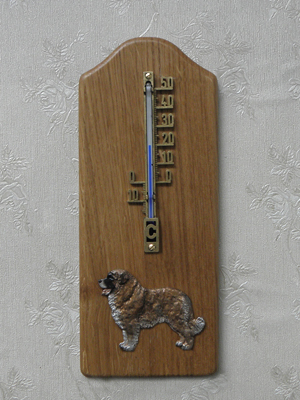 Caucasian Sheepdog - Thermometer Rustical
