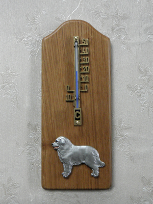 Kuvasz - Thermometer Rustical