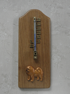 Chow-chow - Thermometer Rustical