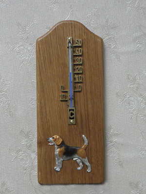 Beagle - Thermometer Rustical