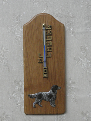 Münsterländer Large - Thermometer Rustical