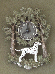 Dalmatian - Wall Clock metal
