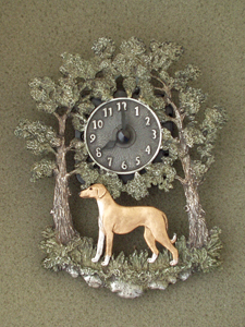 Azawakh - Wall Clock metal