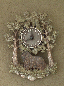 Bergamasco - Wall Clock metal