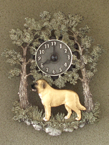 Spanish Mastiff - Wall Clock metal