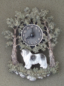 Polish Lowland Sheepdog - PON - Wall Clock metal