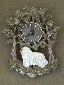 Komondor - Wall Clock metal