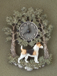 Jack Russell Terrier - Wall Clock metal