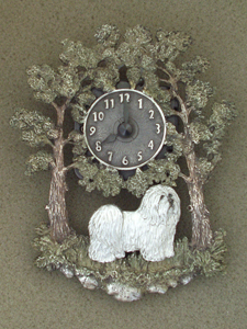 Coton de Tuléar - Wall Clock metal