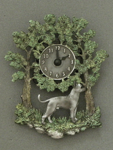 Inca Hairless Dog - Wall Clock metal