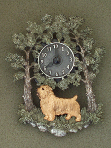 Norfolk Terrier - Wall Clock metal