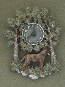 Dutch Shepherd - Wall Clock metal