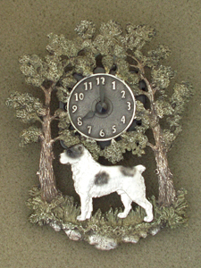 Middle Asia Shepherd - Wall Clock metal