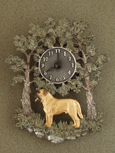Broholmer - Wall Clock metal