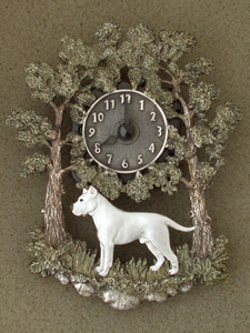 Dogo Argentino - Wall Clock metal