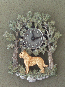 Belgian Laekenois - Wall Clock metal