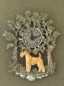 Lakeland Terrier - Wall Clock metal
