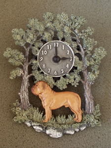 Dogue de Bordeaux - Wall Clock metal