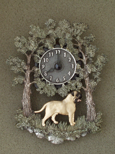 Bullmastiff - Wall Clock metal