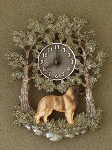 Leonberger - Wall Clock metal