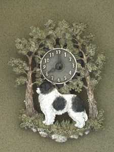 Landseer - Wall Clock metal