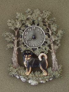 Tibetan Mastiff - Wall Clock metal
