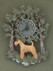 Irish Terrier - Wall Clock metal