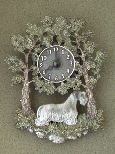 Bohemian Terrier - Wall Clock metal