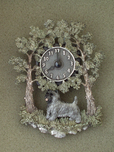 Cairn Terrier - Wall Clock metal