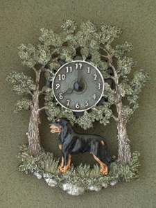 Beauceron - Wall Clock metal