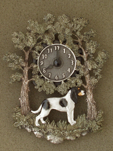 Bernese Hound - Wall Clock metal